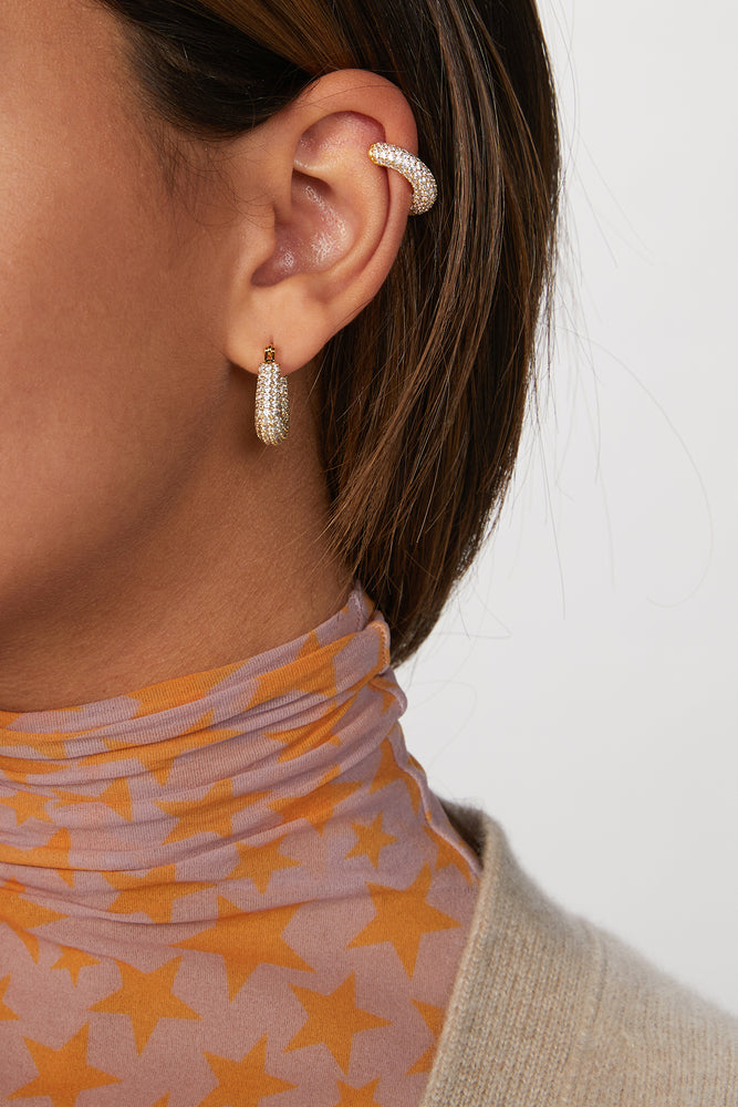 Load image into Gallery viewer, PAVE AMALFI EAR CUFF