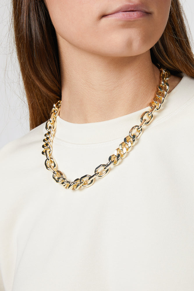 Load image into Gallery viewer, MIXED UP STATEMENT NECKLACE
