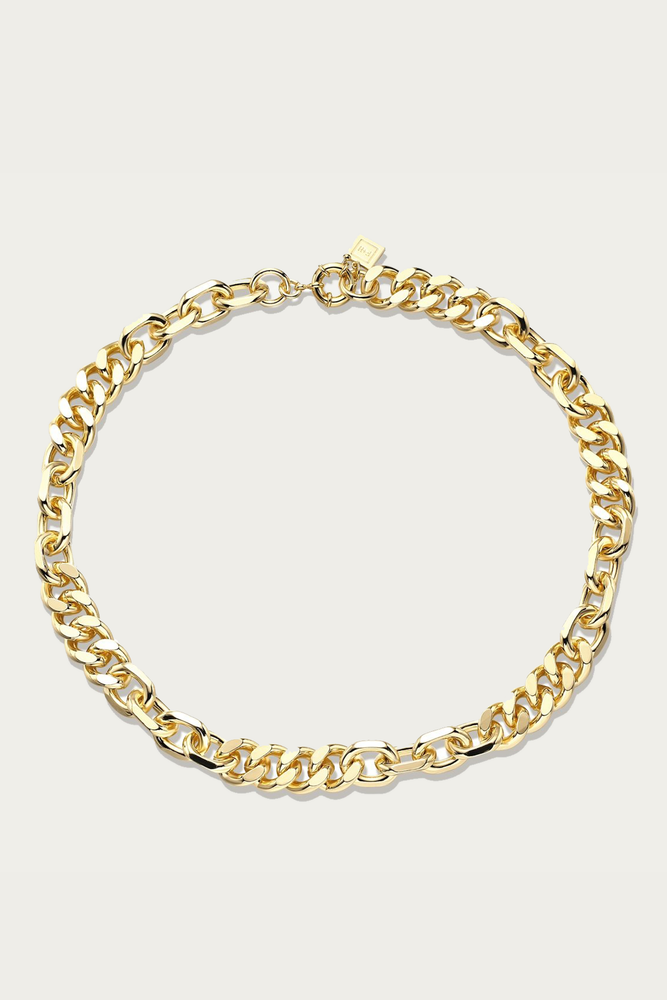 F+H JEWELLERY - MIXED UP STATEMENT NECKLACE