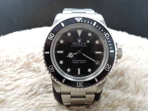1988 Rolex SUBMARINER 5513 with WG Marker and Dome Crystal