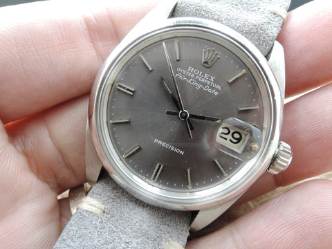1969 Rolex AIR KING DATE 5700 with Original Grey Dial