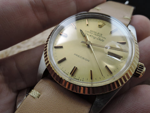 1987 Rolex AIR KING DATE 5701 with Original Gold Dial