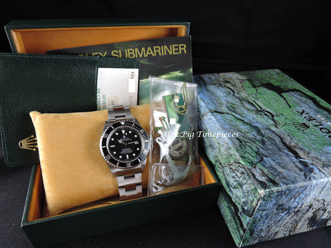 Rolex SEA DWELLER 16600 Full Set with Box and PAPER Like New
