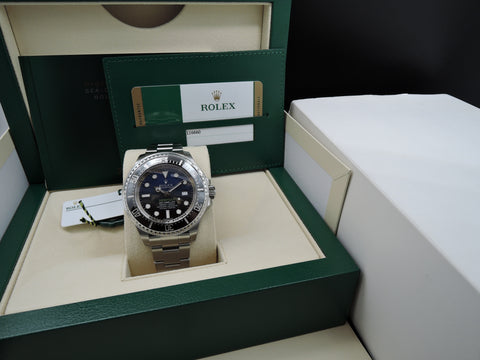 [NEW] Rolex DEEPSEA BLUE 116660 Stainless Steel Ceramic Bezel Full Set