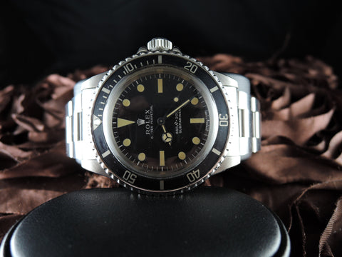 1974 Rolex SUBMARINER 5513 Matt Dial with Domed Crystal and Egg Shell Patina