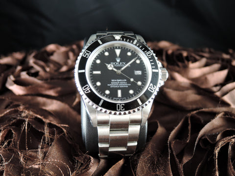 1997 Rolex SEA DWELLER 16600 with Box and PAPER and Service Paper