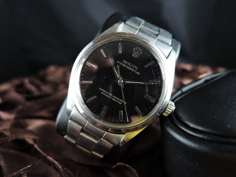 1952 Rolex OYSTER PERPETUAL 1002 Original Gilt Dial with Dauphine Hands