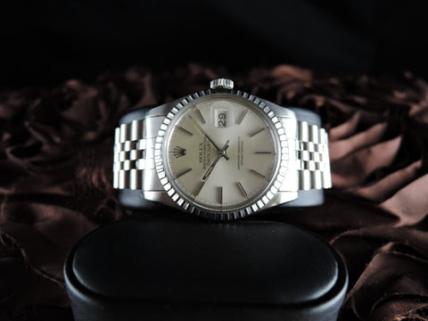 1979 Rolex DATEJUST 16030 Stainless Steel Original Silver Dial with Box & Paper