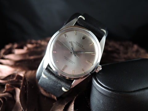 1962 Rolex OYSTER PERPETUAL 1018 Original Light Grey Dial BIG SIZE (36mm)