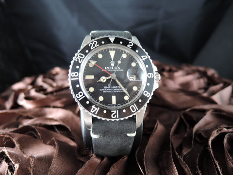 1980 Rolex GMT MASTER 16750 Matt Dial with Black Bezel
