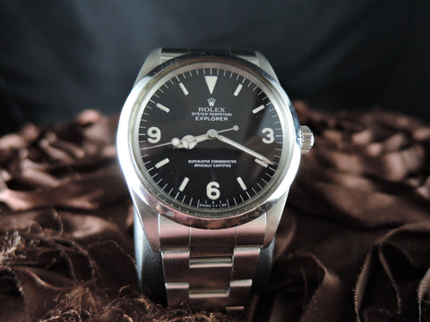 1988 Rolex EXPLORER 1 1016 with Excellent Condition Last Serial R