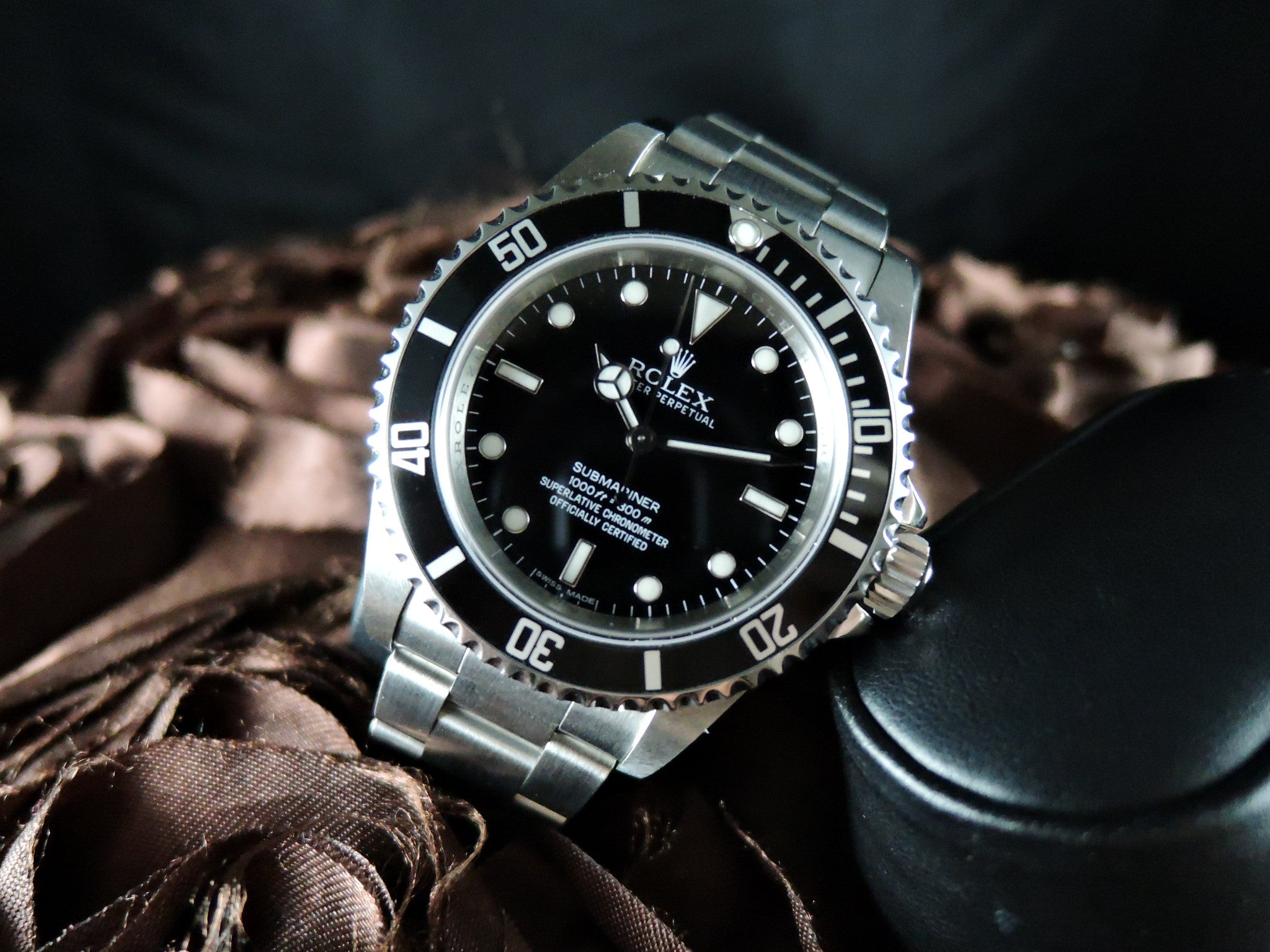 2010 Rolex Submariner 14060m No Date 4 Lines Cosc Alex Pig