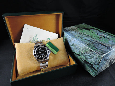 1996 Rolex SEA DWELLER 16600 with Box and PAPER