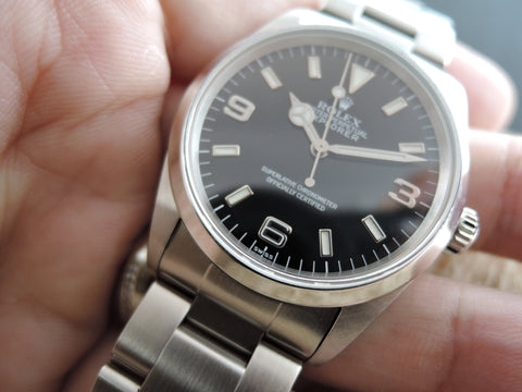 1999 Rolex EXPLORER 1 14270 Black Dial with Mint Condition