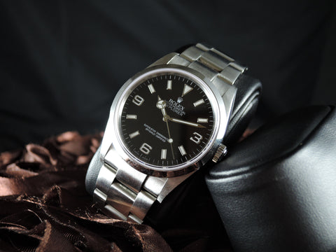 2002 Rolex EXPLORER 1 114270 Black Dial Mint Condition