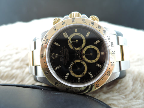 1999 Rolex DAYTONA 16523 2-Tone with Original Black Dial (SEL)