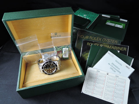 2002 Rolex SEA DWELLER 16600 *COMPLETE* Full Set Like New