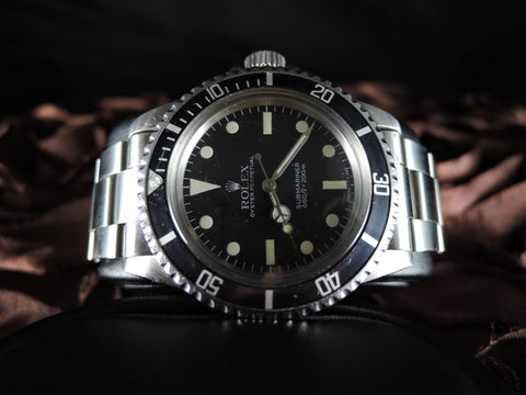 1982 Rolex SUBMARINER 5513 Maxi Mark V Matt Dial