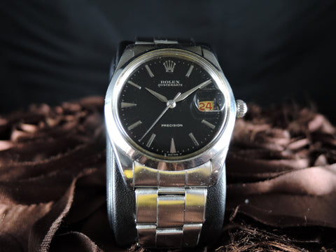 1962 Rolex OYSTER DATE 6694 Original Gilt Dial with Dauphine Hands