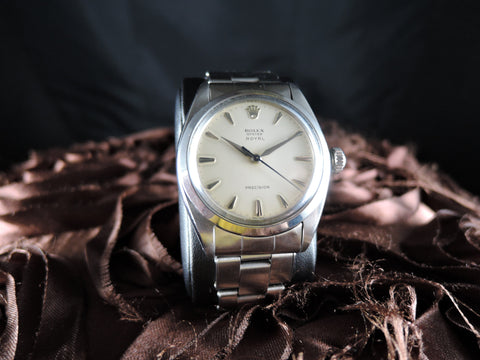 1950 Rolex OYSTER ROYAL 6426 Original Creamy Dial and Rivet Band