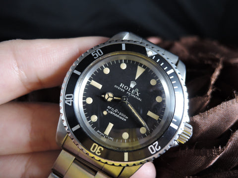 1969 Rolex SUBMARINER 5513 Matt Dial Full Set with Box and Papers