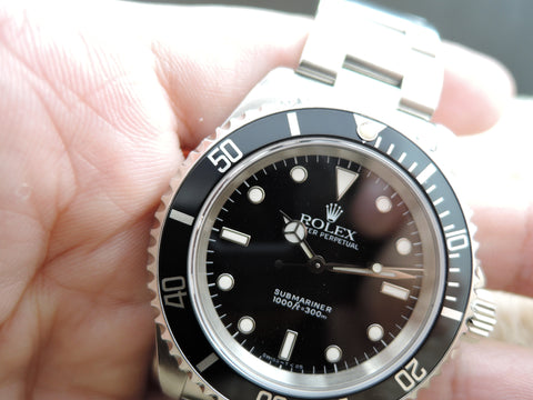 1994 Rolex SUBMARINER 14060 (T25 Dial) with Box and Paper