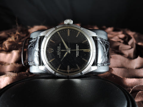 1959 Rolex OYSTER PERPETUAL 1003 Original Gilt Dial with Dauphine Hands