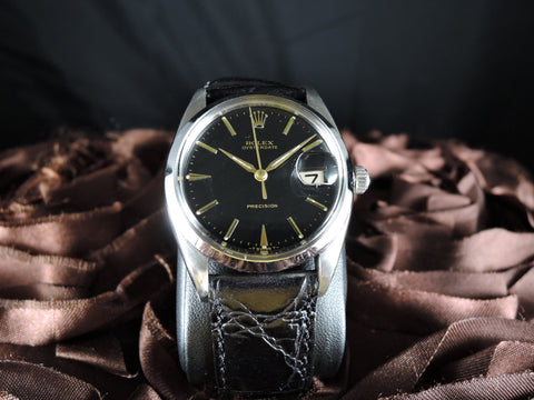 1948 Rolex OYSTER DATE 6694 Original Gilt Dial with Dauphine Hands