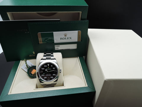 [NEW] Rolex AIRKING 116900 Stainlaess Steel (NEW MODEL)