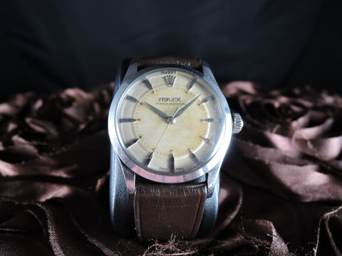1958 Rolex BUBBLEBACK 6332 with Bull-Eye Dial and Dauphine Hands