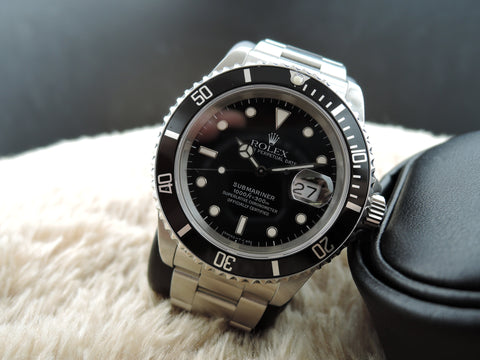 1994 Rolex SUBMARINER 16610 (T25 Dial) with Box and Paper