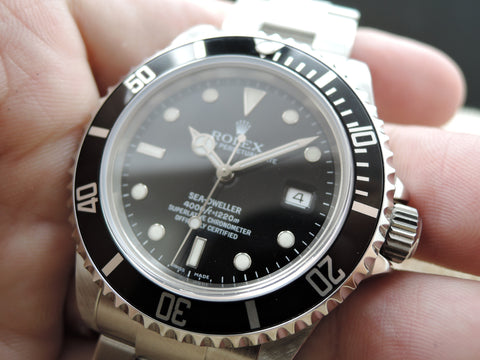 2008 Rolex SEA DWELLER 16600 Full Set (M Serial) with Box and PAPER