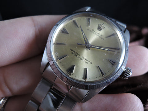 1970 Rolex OYSTER PERPETUAL 1003 Original Silver Dial with Papers