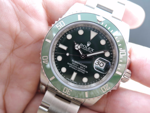 [NEW] Rolex SUBMARINER 116610LV Stainless Steel Ceramic Bezel Full Set