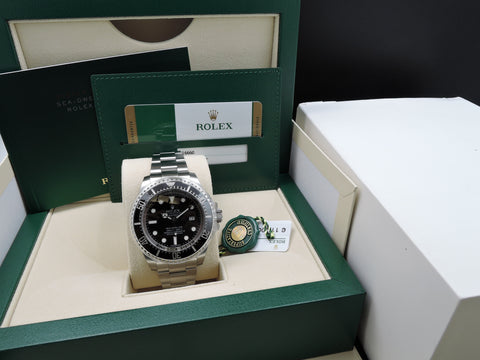 [NEW] Rolex DEEPSEA BLACK 116660 Stainless Steel Ceramic Bezel Full Set