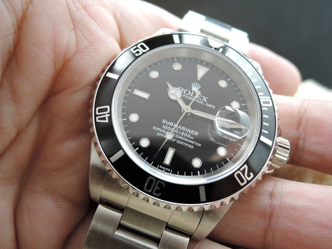 1999 Rolex SUBMARINER 16610 (SWISS Dial) with Full Set