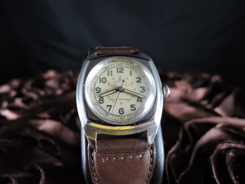 1946 Rolex BUBBLEBACK 3139 Oyster Royalite Military