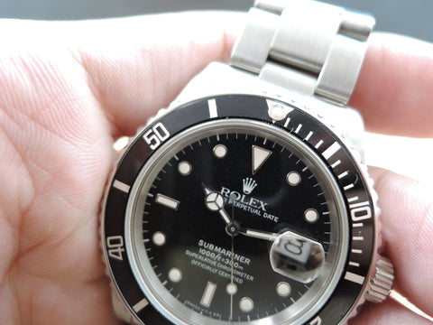 1987 Rolex SUBMARINER 168000 Glossy Dial with Box and Paper