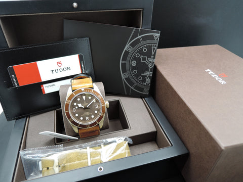 [NEW] Tudor HERITAGE BLACK BAY Bronze 79250BM Full Set