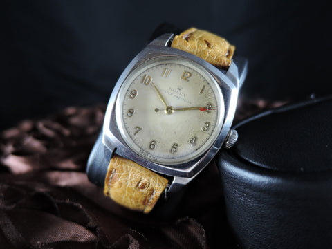 1947 Rolex OYSTER PRECISION 4647 Military with RED Arrow Head Seconds Hand