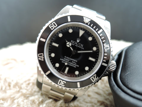 [NEW] 2009 Rolex SUBMARINER 14060M with Box and Paper (NOS)