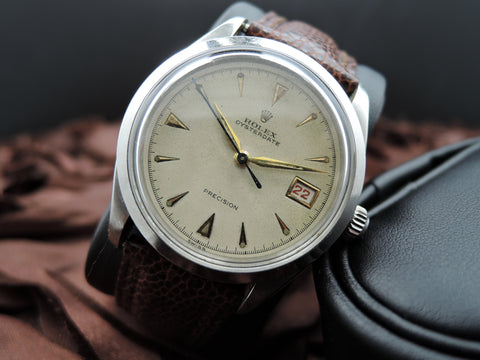 1953 Rolex OYSTERDATE 6294 Original Creamy Dial with ALL RED Date