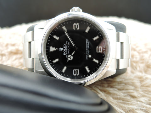 2000 Rolex EXPLORER 1 14270 Black (SWISS MADE) Dial with Box and Papers