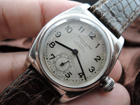 "1938 Rolex OYSTER ROYAL Signed ""J. Stern, Johannesburg"" with Sub-Seconds"