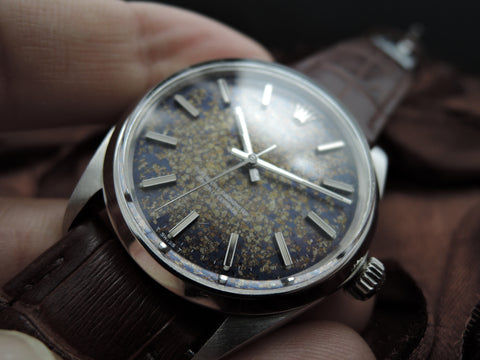 1969 Rolex OYSTER PERPETUAL 1002 Original Tropical Dial