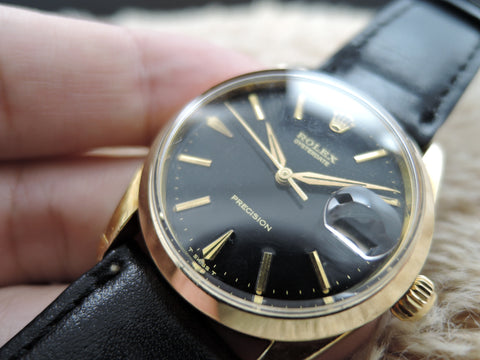 1961 Rolex OYSTER DATE 6694 Gold Plated with Original Gilt Dial