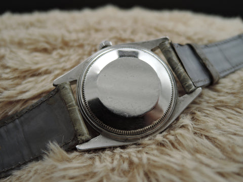 1964 Rolex OYSTER PERPETUAL 1018 Original Matt Black Dial BIG SIZE (36mm)