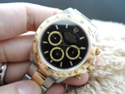 1994 Rolex DAYTONA 16523 2-Tone with Original Black Dial