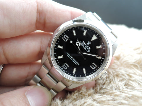 2001 Rolex EXPLORER 1 114270 Black Dial Mint Condition