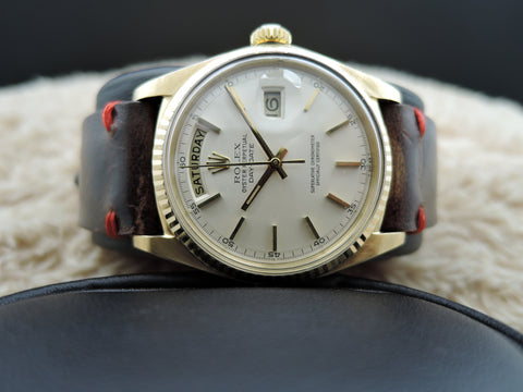 1971 Rolex DAY-DATE 1803 18K Gold with Original Creamy Dial with 5 Min Track